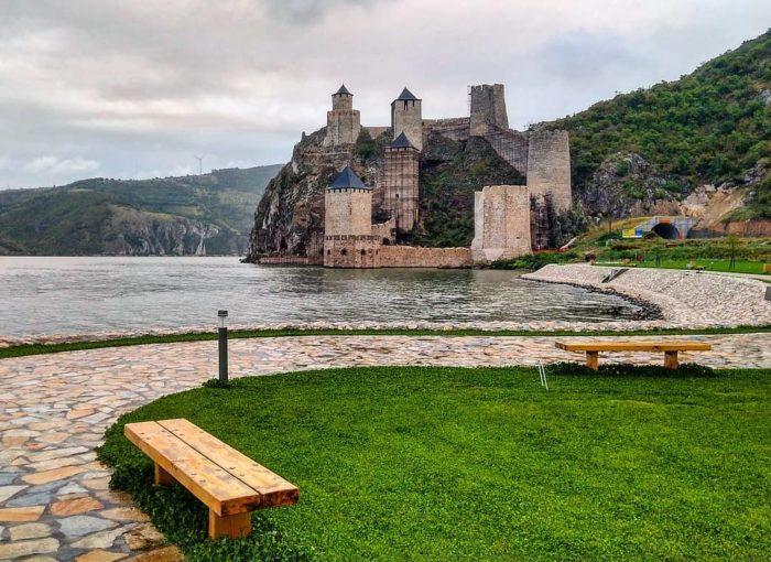 Крепость Голубац. Сербия
