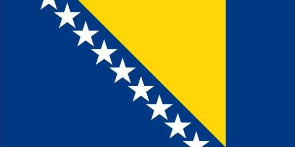 Босния и Герцеговина флаг