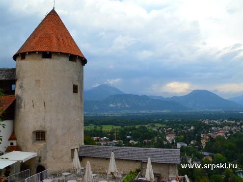 Башня Бледского замка