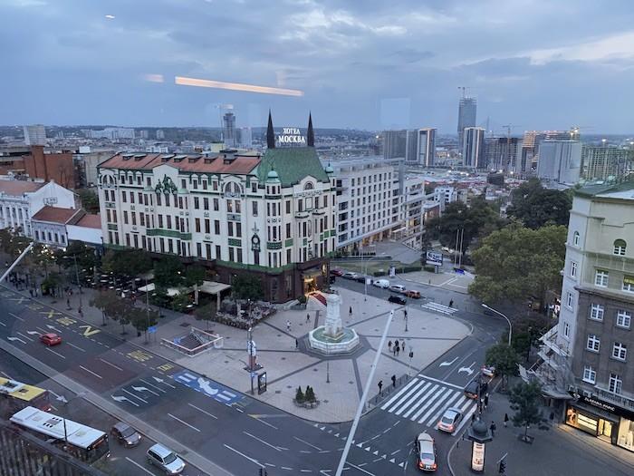Отель Москва в Белграде. Туры в Сербию