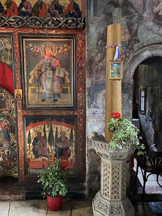 Отдых в Сербии. Ратарские свечи. Монастырь Троноша