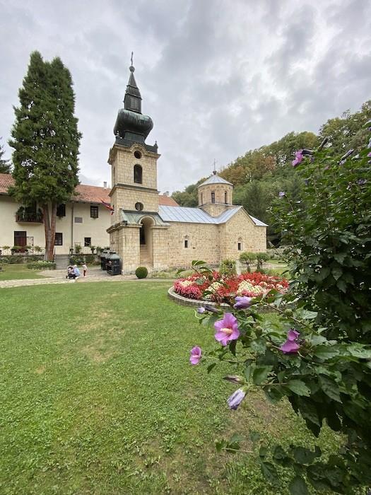 Отдых в Сербии. Монастырь Троноша